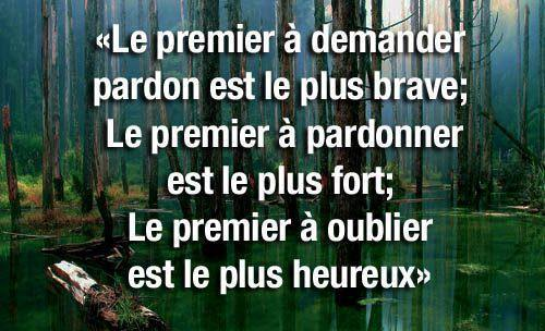citation sur le pardon