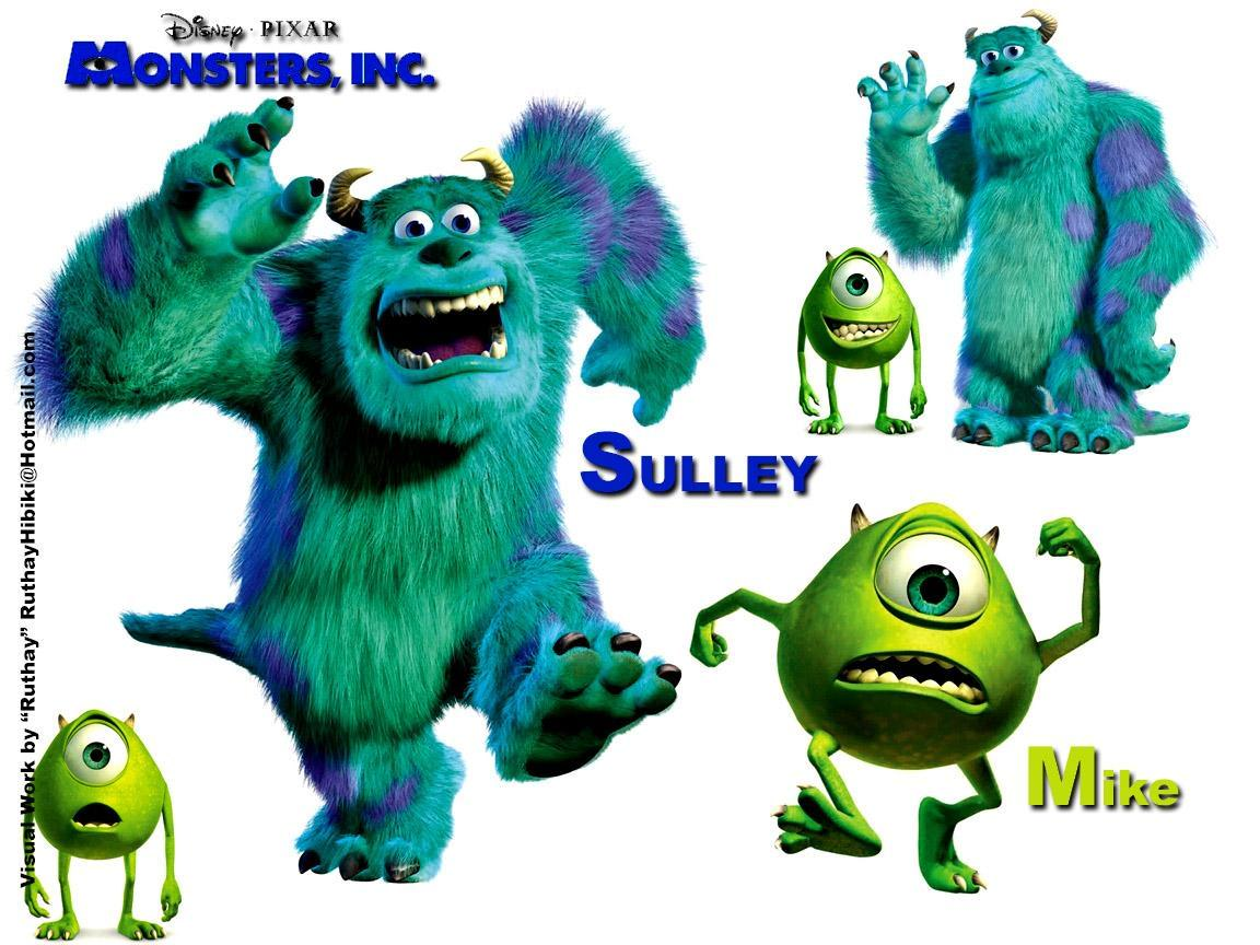 Monsters Inc. Ruthay Monster Inc. 01