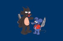Les Simpsons Itchy & Scratchy