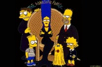 Les Simpsons the adamsons family