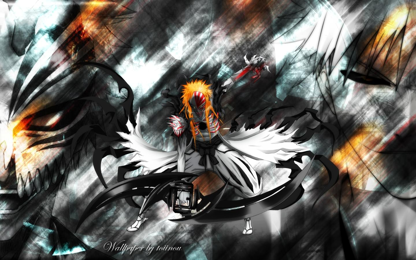 Bleach ichigo hollow version 102366 for Photo ecran bleach