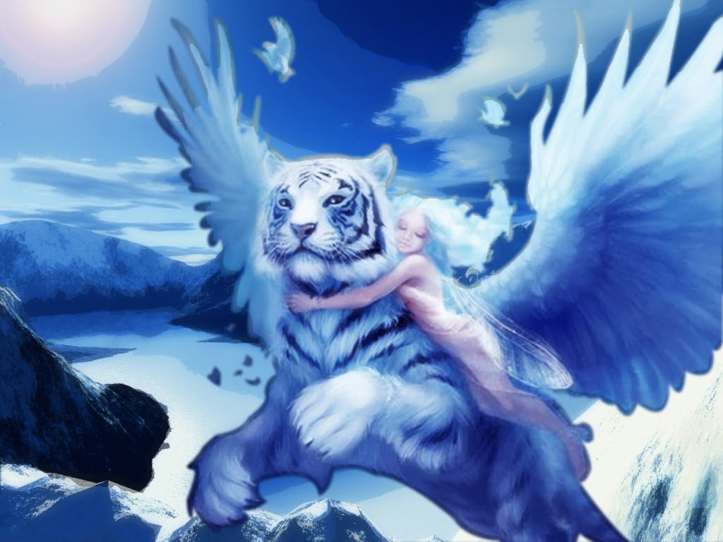 creatures lions et tigres ailes the flying tiger and the